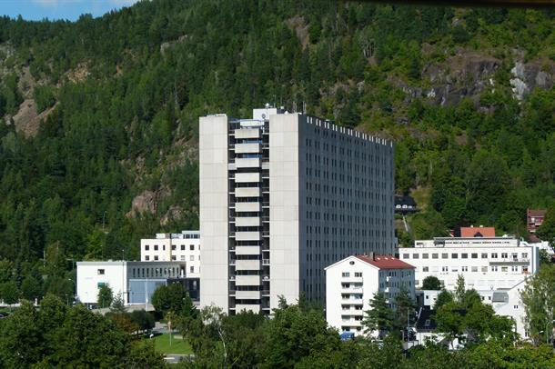 Drammen sykehus.