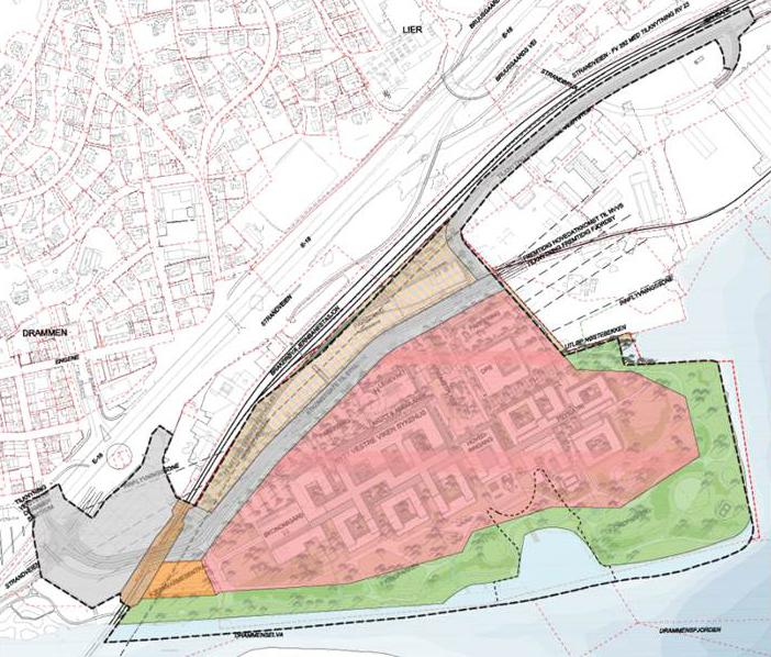 Karta Norge Drammen.Nytt Sykehus I Drammen Vestre Viken