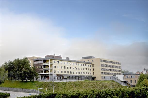 Kongsberg sykehus.
