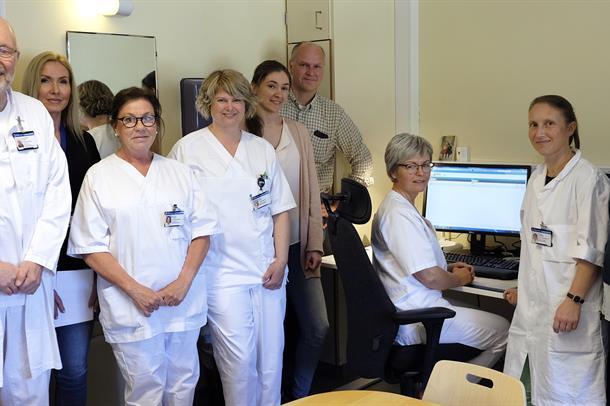Forksning onkologisk avdeling Drammen sykehus