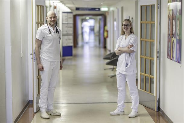 Marius Myrstad og Marte Meyer Walle-Hansen