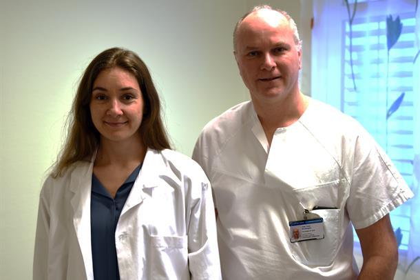 Odd Terje Brustugun og Inger Johanne Zwicky Eide er glade for forskningsmidlene.