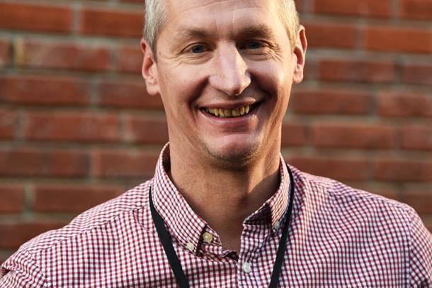 Ulrich Spreng, ny fagredaktør i Vestre Viken HF.