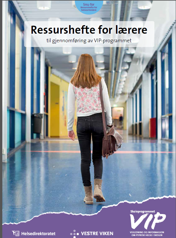 Front page of the resource booklet for teachers.